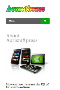 autism xpress app on iphone